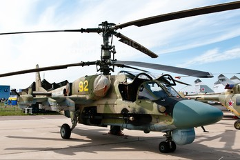52 - Russia - Air Force Kamov Ka-52 Alligator