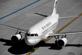 N828AW - US Airways Airbus A319