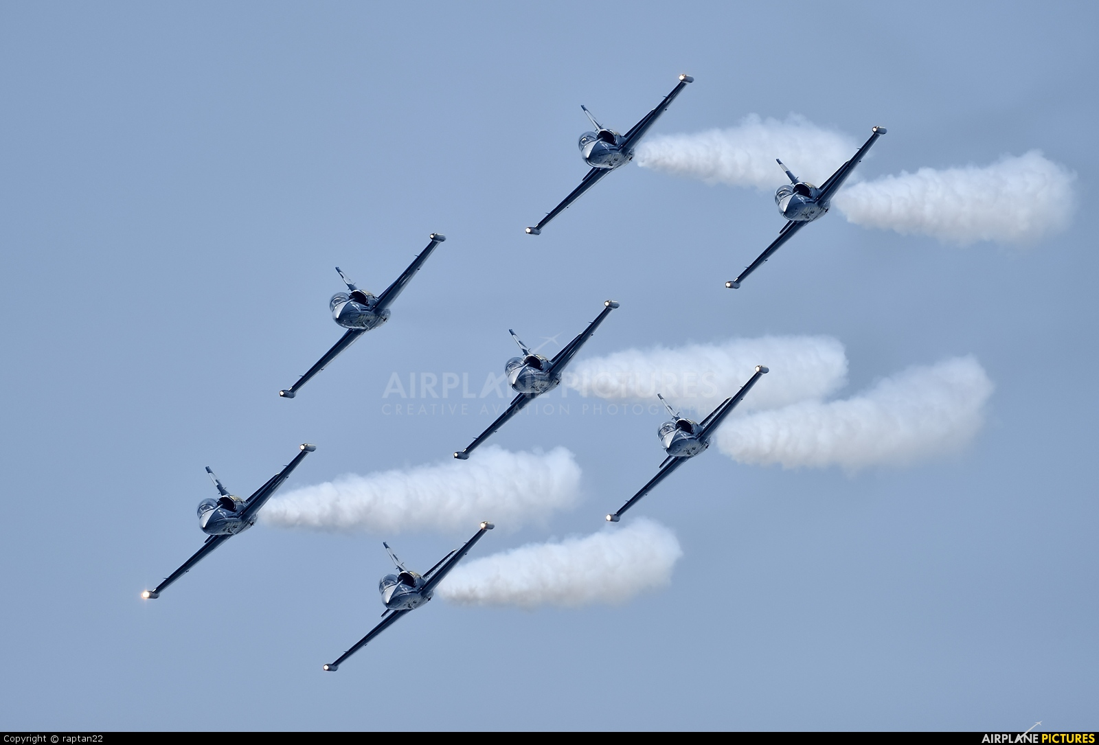 Breitling Jet Team ES-YLX aircraft at Off Airport - Japan