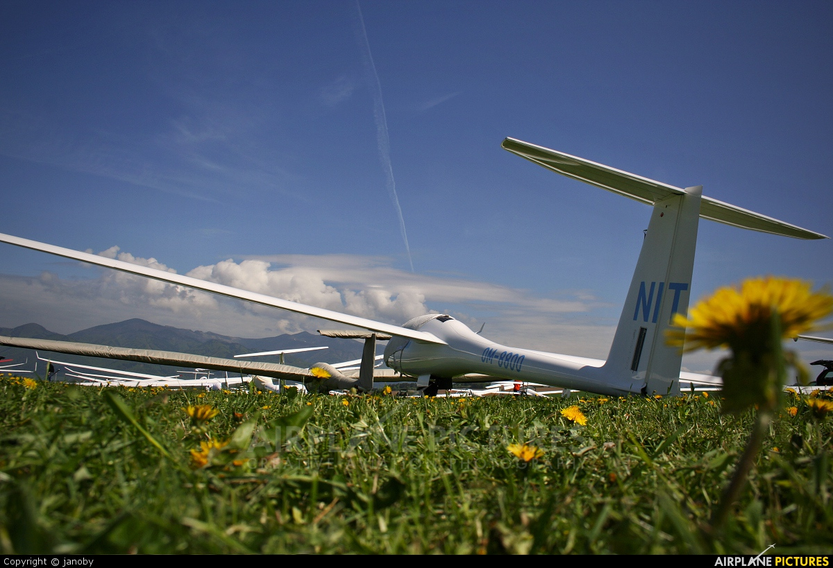 Aeroklub Nitra OM-8800 aircraft at Martin-Tomčany