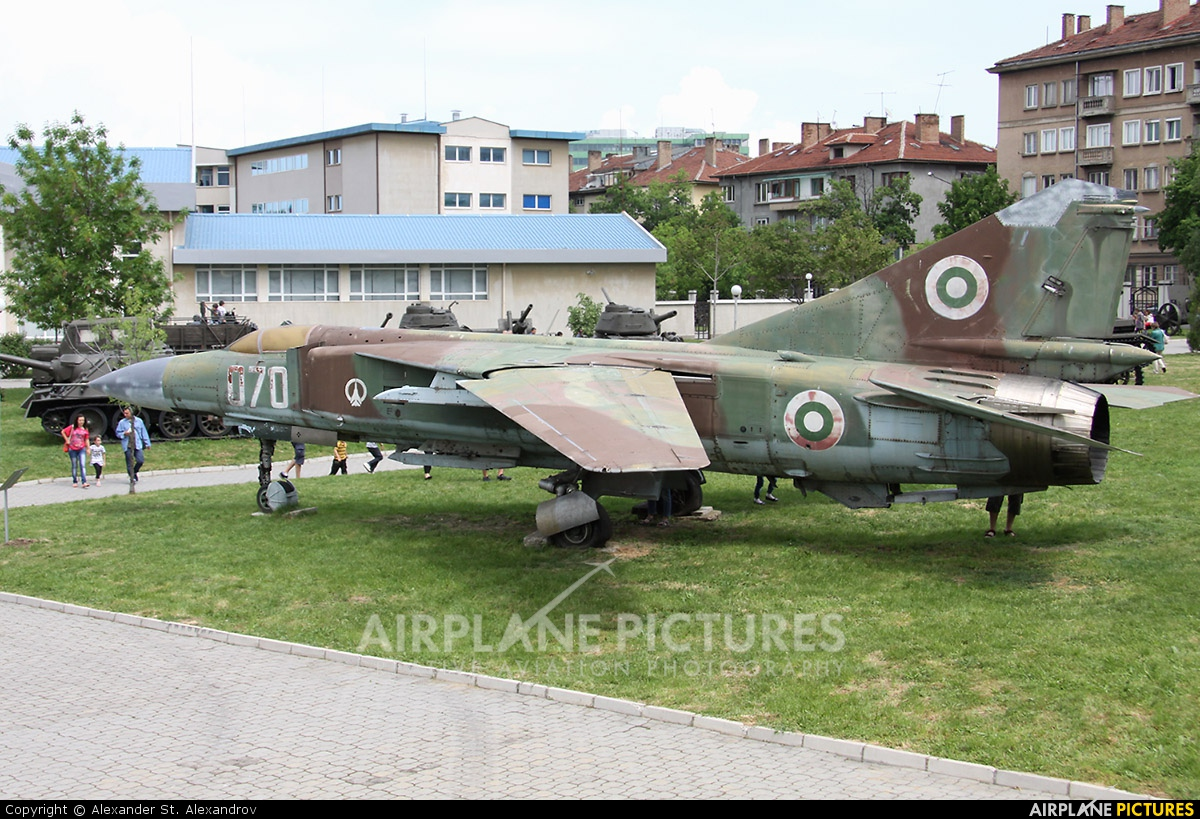 Bulgaria - Air Force 070 aircraft at Off Airport - Bulgaria