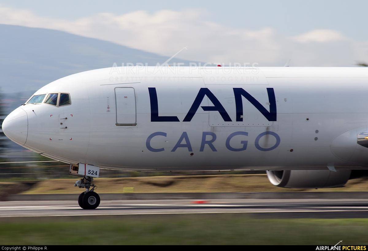 LAN Cargo N524LA aircraft at San Jose - Juan Santamaría Intl