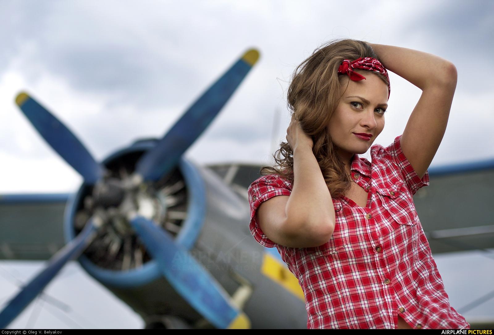 - Aviation Glamour - aircraft at Kyiv - Borodyanka