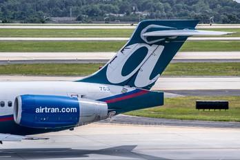 N993AT - AirTran Boeing 717