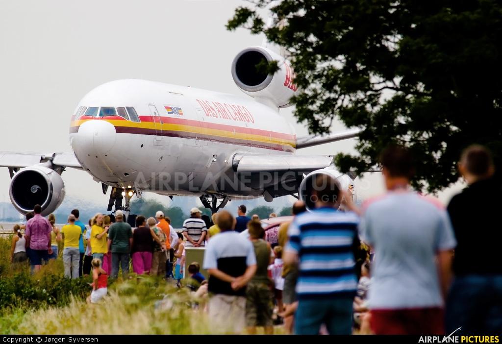 DAS Air Cargo 5X-JOE aircraft at Amsterdam - Schiphol
