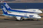 JA803A - ANA - All Nippon Airways Boeing 787-8 Dreamliner aircraft