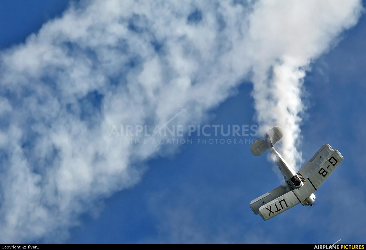 Private G-BUTX aircraft at Duxford