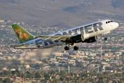 N912FR - Frontier Airlines Airbus A319 aircraft