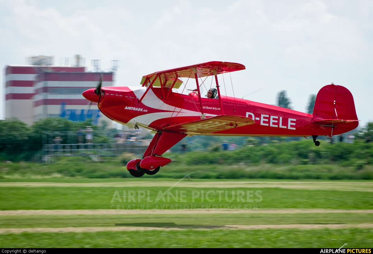 Private D-EELE aircraft at Prague - Letňany