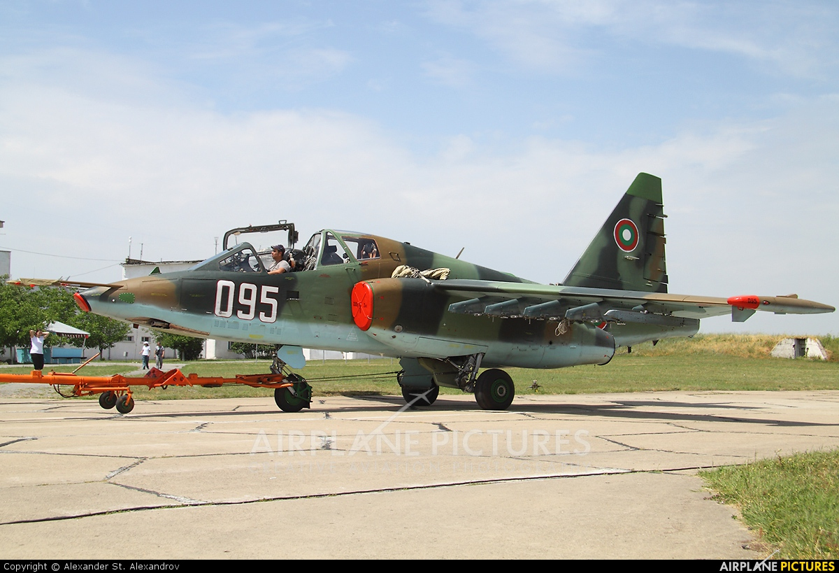 Bulgaria - Air Force 095 aircraft at Bezmer
