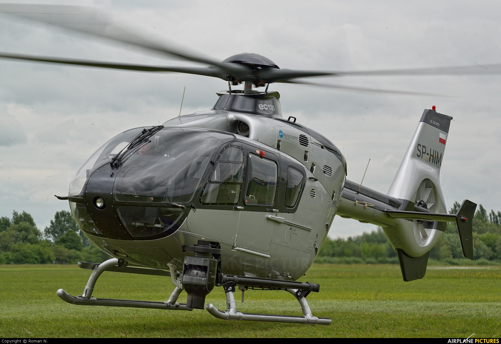 Private SP-HIM aircraft at Płock