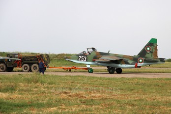 253 - Bulgaria - Air Force Sukhoi Su-25K