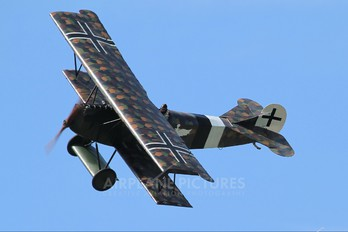 SE-XVO - Private Fokker D.VII (replica)