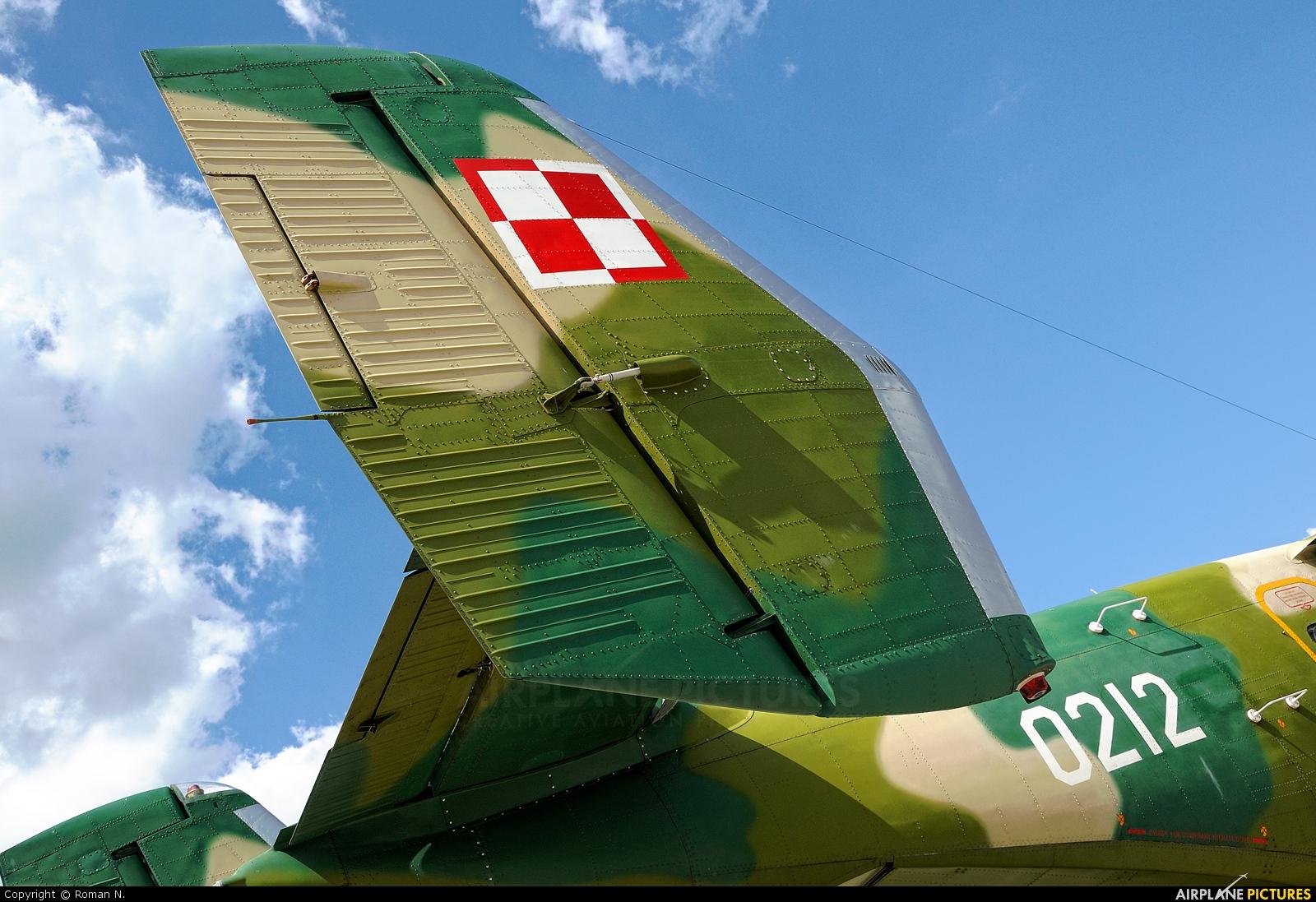 Poland - Air Force 0212 aircraft at Mirosławiec