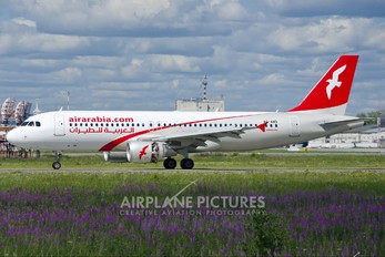 A6-AND - Air Arabia Airbus A320