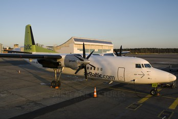 YL-BAA - Air Baltic Fokker 50
