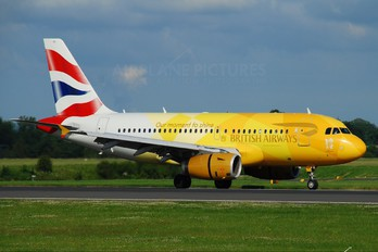 G-EUPC - British Airways Airbus A319