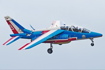 "E163 - France - Air Force ""Patrouille de France"" Dassault - Dornier Alpha Jet E"
