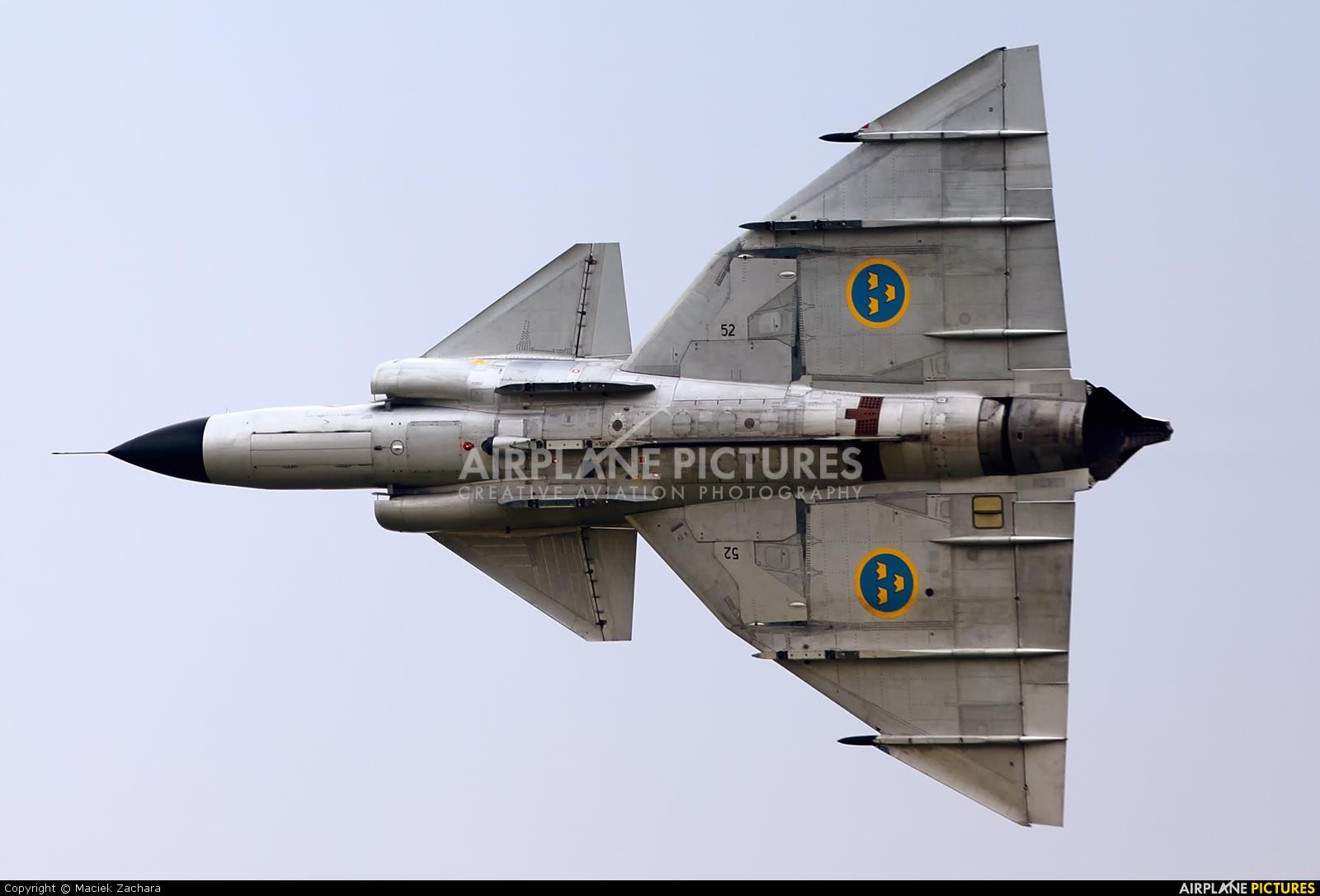 Swedish Air Force Historic Flight SE-DXN aircraft at Uden - Volkel