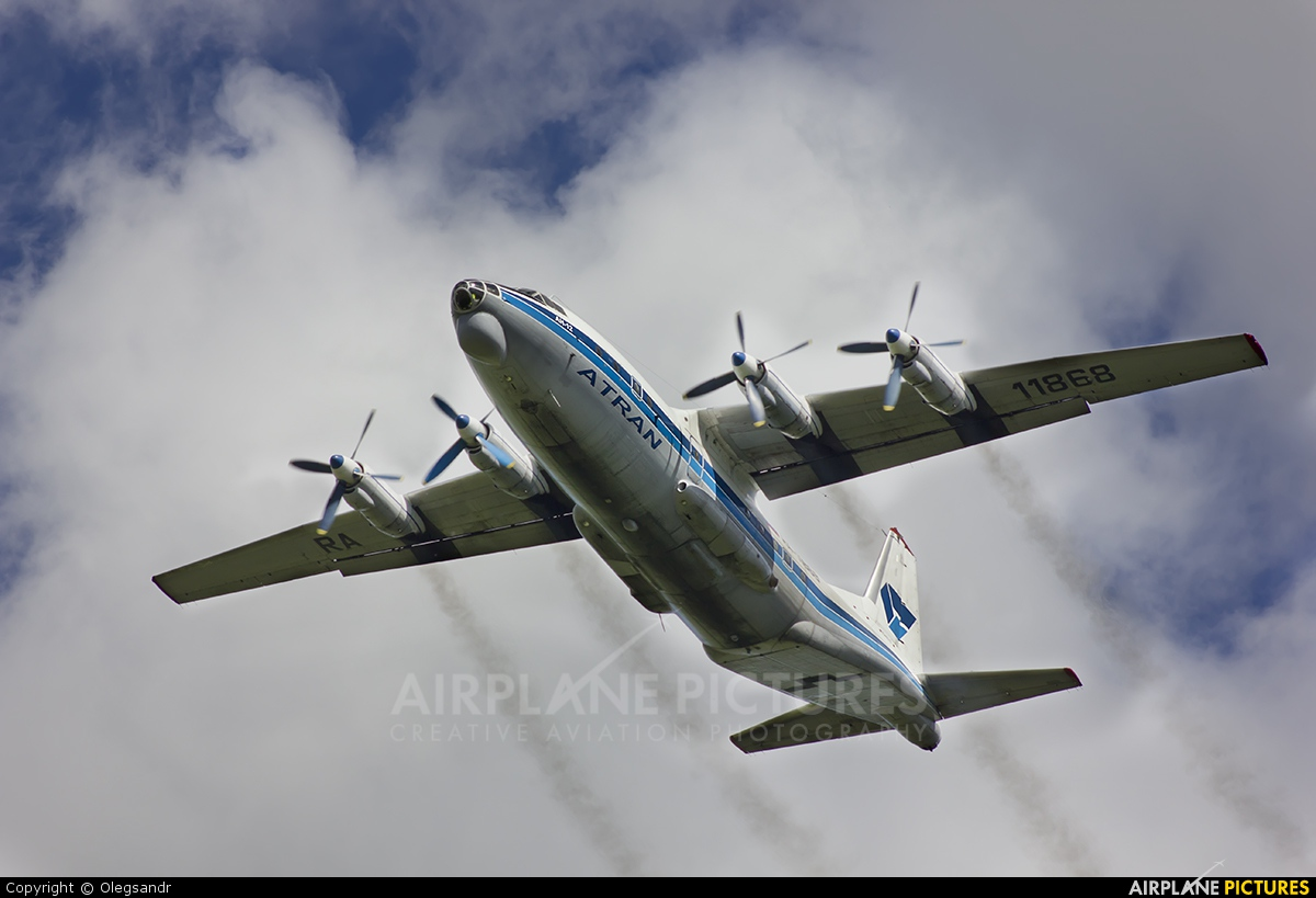 Atran RA-11868 aircraft at Bolshoe Savino - Perm