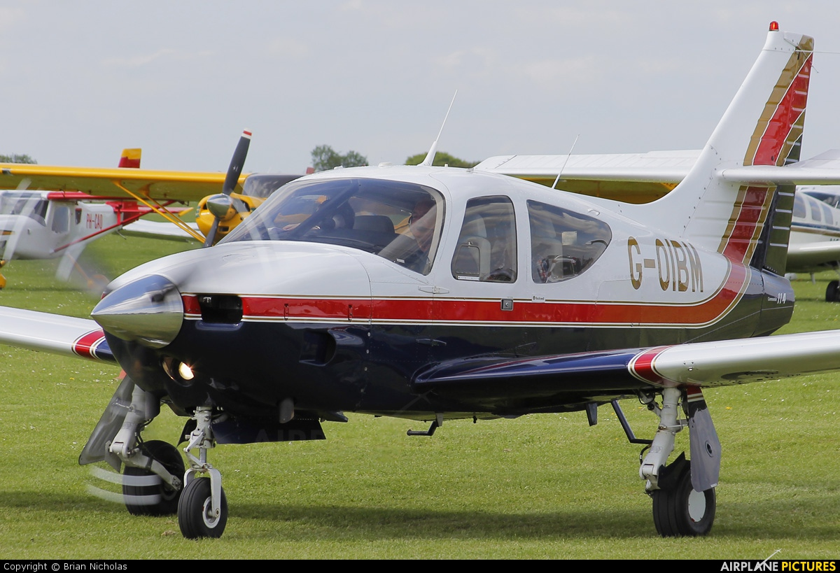 Private G-OIBM aircraft at Northampton / Sywell