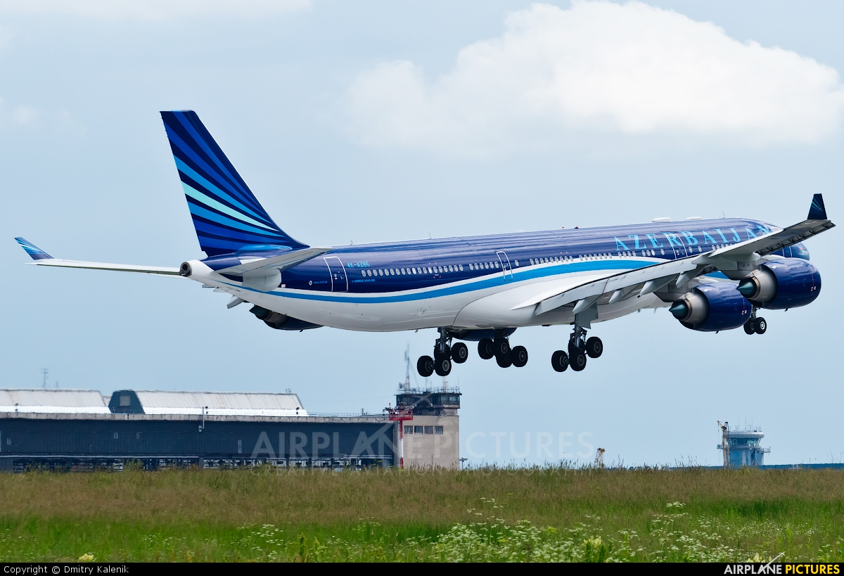Azerbaijan Airlines 4K-AZ86 aircraft at Moscow - Domodedovo
