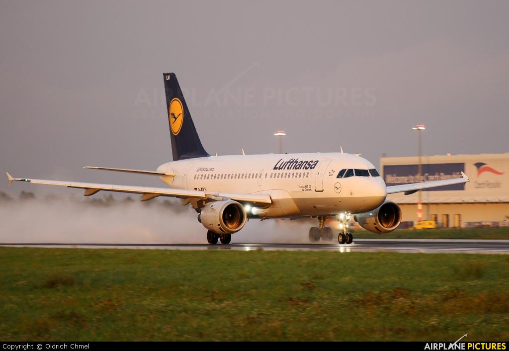 Lufthansa D-AILN aircraft at Prague - Václav Havel