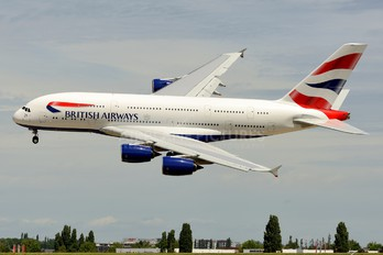 F-WWSK - British Airways Airbus A380