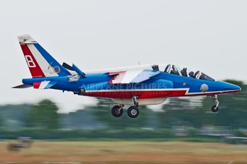 """E117 - France - Air Force """"Patrouille de France"""" Dassault - Dornier Alpha Jet E"""