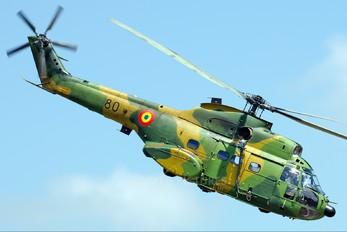 80 - Romania - Air Force IAR Industria Aeronautică Română IAR 330 Puma