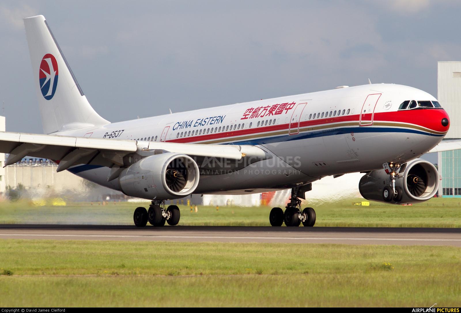 China Eastern Airlines B-6537 aircraft at London - Heathrow
