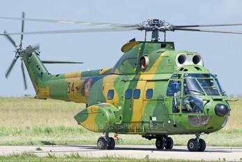34 - Romania - Air Force IAR Industria Aeronautică Română IAR 330 Puma