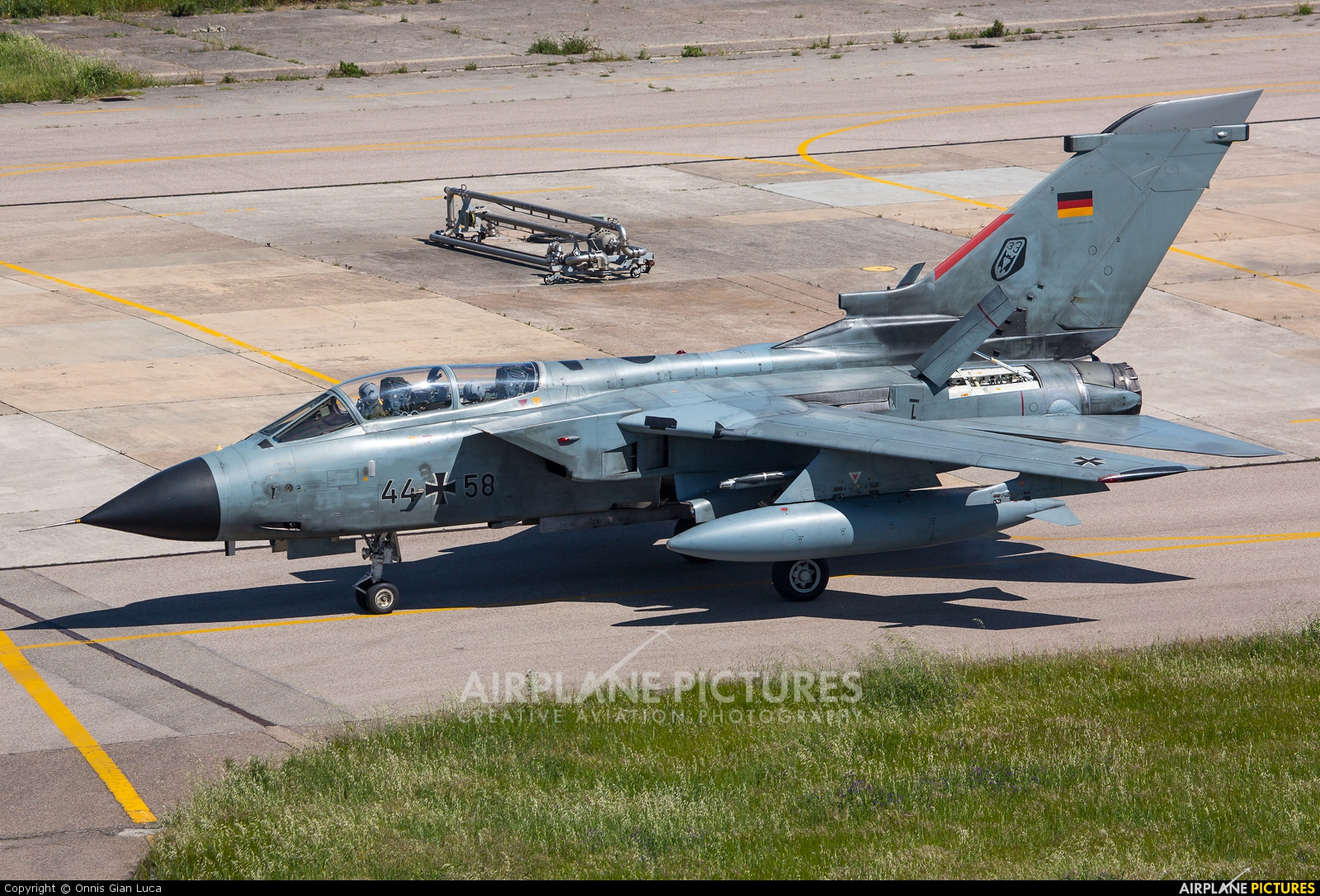 Germany - Air Force 44+58 aircraft at Decimomannu