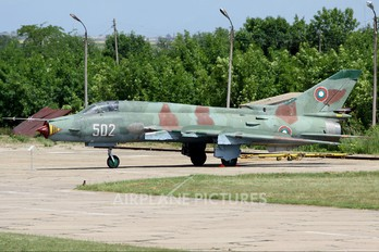 502 - Bulgaria - Air Force Sukhoi Su-22M-4
