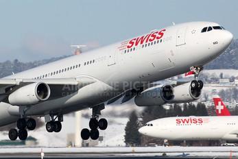 HB-JMD - Swiss Airbus A340-300