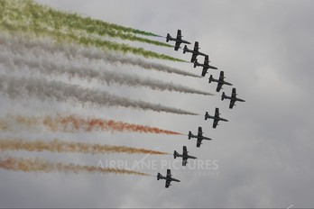 """MM54477 - Italy - Air Force """"Frecce Tricolori"""" Aermacchi MB-339-A/PAN"""
