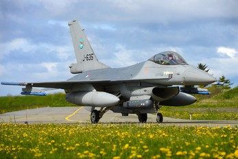 J-635 - Netherlands - Air Force General Dynamics F-16A Fighting Falcon