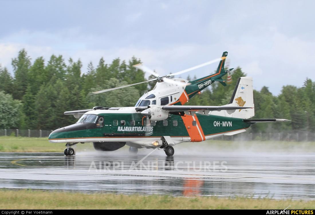 Finland - Border Guard OH-MVN aircraft at Lappeenranta