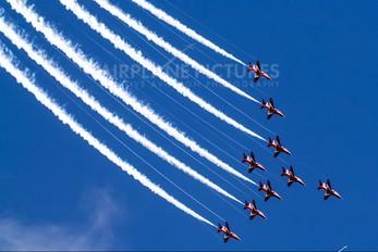 "XX332 - Royal Air Force ""Red Arrows"" British Aerospace Hawk T.1/ 1A"