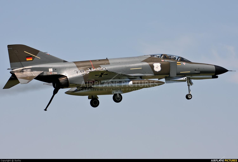 Germany - Air Force 38+10 aircraft at Neuburg - Zell