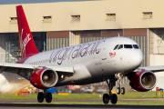 EI-DEO - Virgin Atlantic Airbus A320 aircraft
