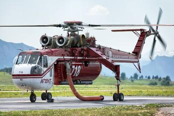N718HT - Helicopter Transport Services Sikorsky CH-54 Tarhe/ Skycrane