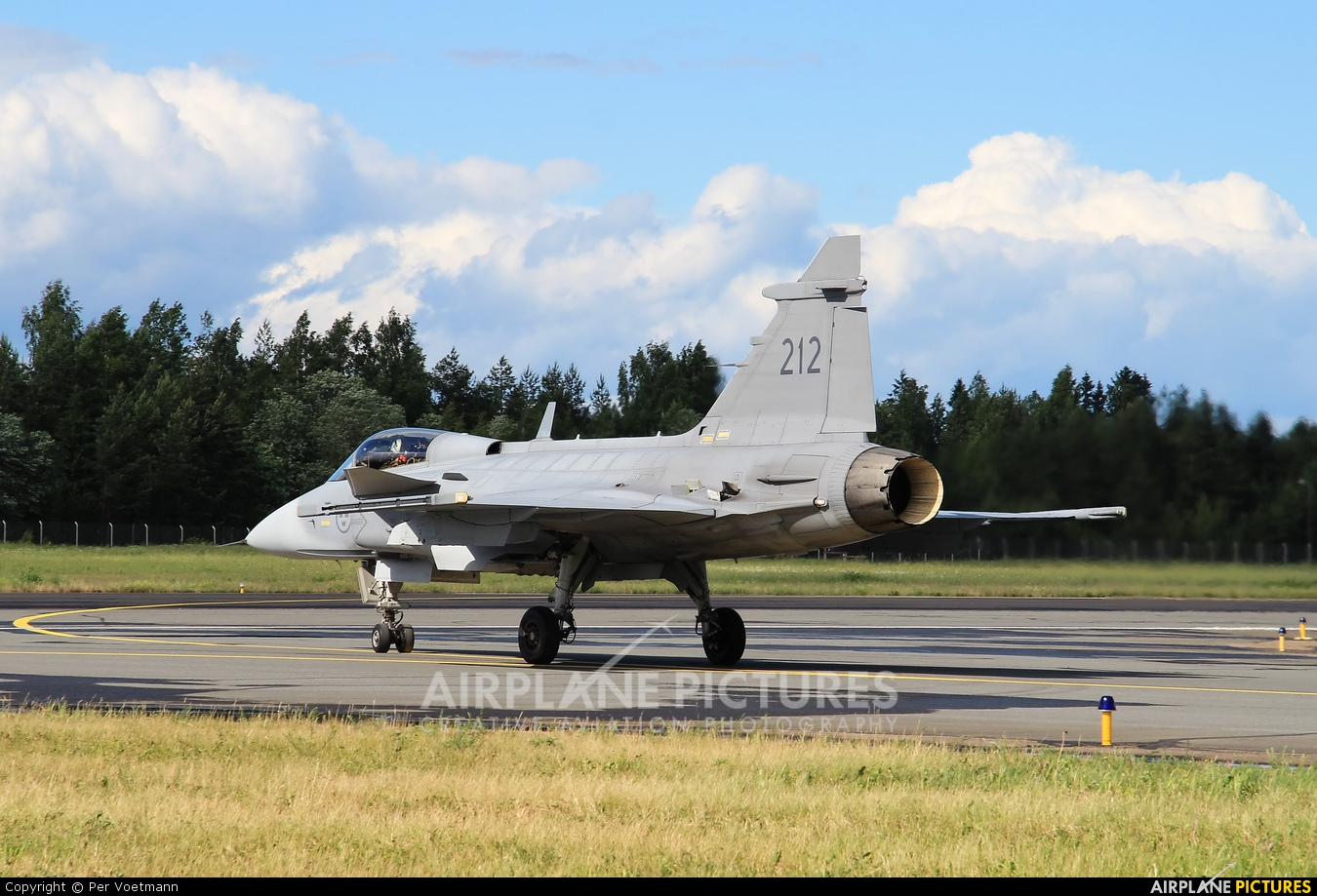 Sweden - Air Force 39212 aircraft at Lappeenranta