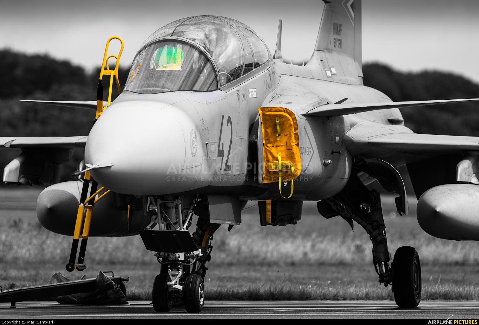 Hungary - Air Force 42 aircraft at Uden - Volkel