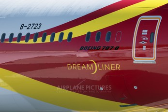 B-2723 - Hainan Airlines Boeing 787-8 Dreamliner