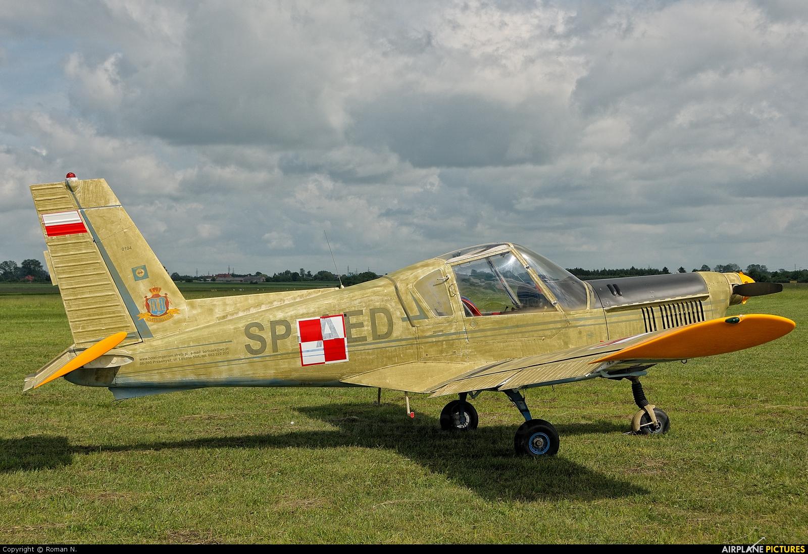 Aeroklub Słupski SP-AED aircraft at Płock