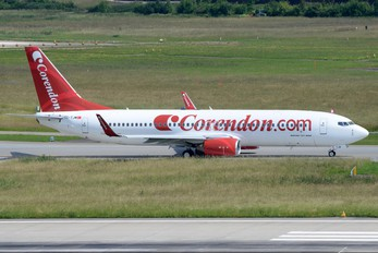 TC-TJM - Corendon Airlines Boeing 737-800