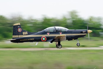 666 - Bulgaria - Air Force Pilatus PC-9M