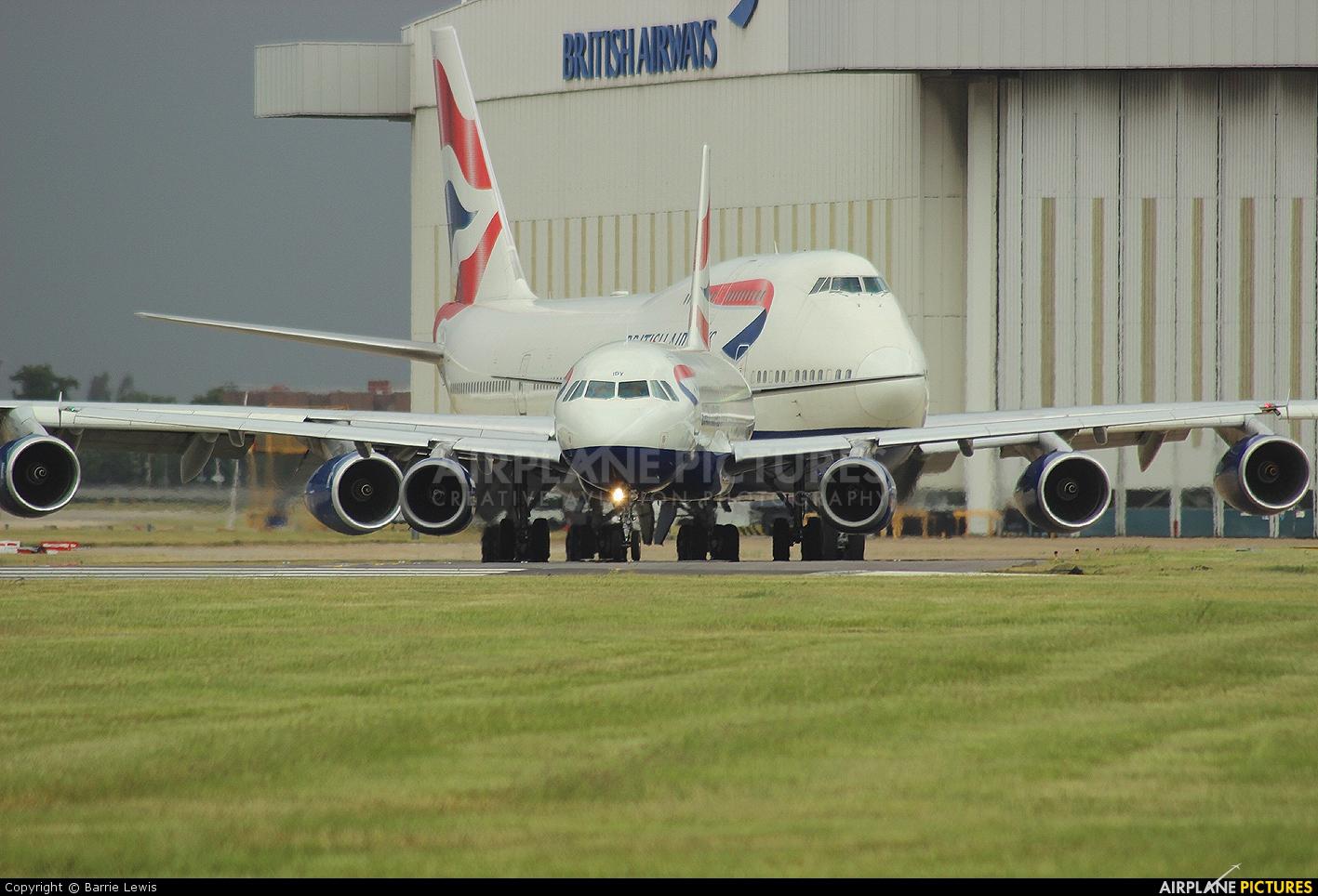 British Airways G-MIDY aircraft at London - Heathrow