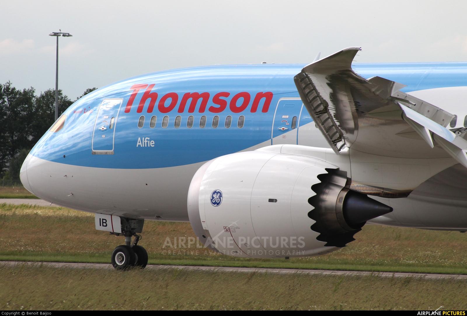 Thomson/Thomsonfly G-TUIB aircraft at Hannover - Langenhagen